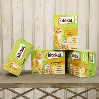 """Kitekat confezione """"il cacciatore"""" 48 buste da 100gr"""