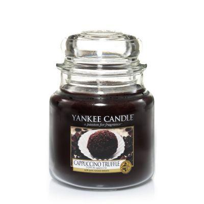Giara profumata yankee candle cappuccino truffle media