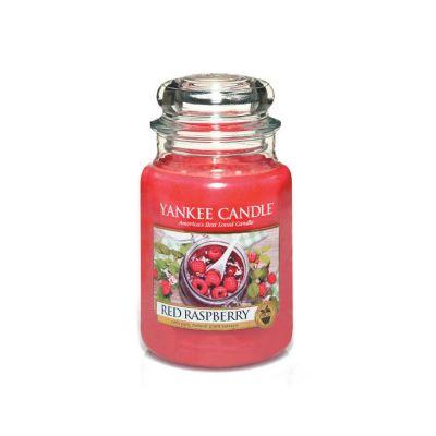 Giara profumata yankee candle red raspberry grande
