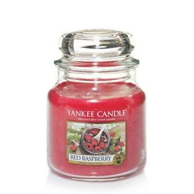 Giara profumata yankee candle red raspberry media