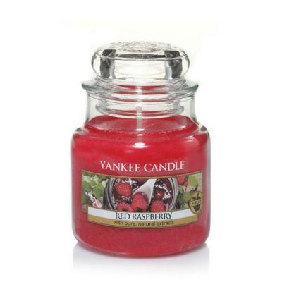Giara profumata yankee candle red raspberry piccola