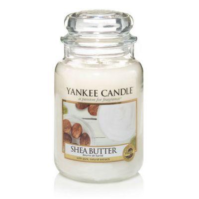 Giara profumata yankee candle shea butter grande