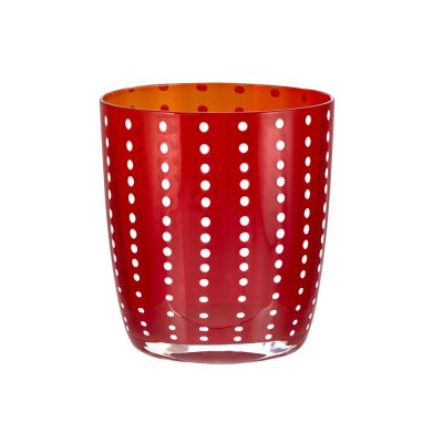 Bicchiere tumbler carnival rosso