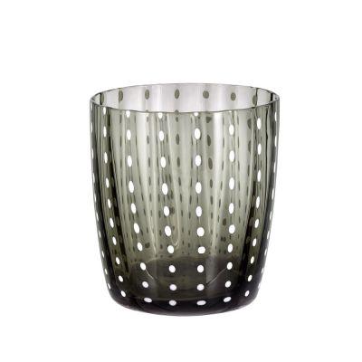 Bicchiere tumbler carnival grigio