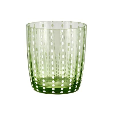 Bicchiere tumbler carnival verde