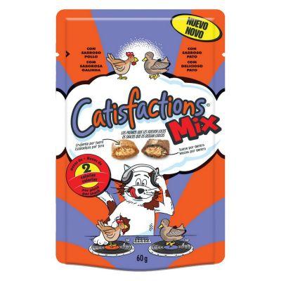 Snack per gatto catisfaction all'anatra e pollo gr. 60