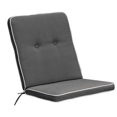 Cuscino per poltrona bassa liberty color grigio