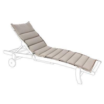 Cuscino trapuntato per lettino grigio