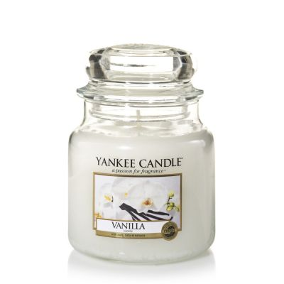 Giara profumata yankee candle vanilla media