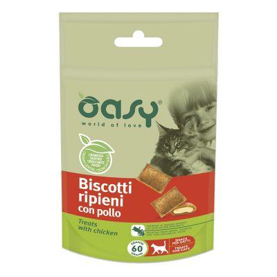 Biscotti ripieni oasy al pollo 60gr