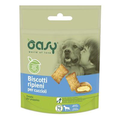 Biscotti ripieni oasy per cuccioli 80gr