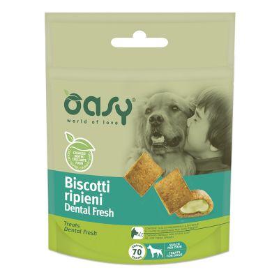 Biscotti ripieni oasy dental fresh 70gr