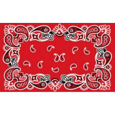 Zerbino in cocco bandana rosso