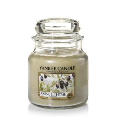 Giara profumata yankee candle olive & thyme media