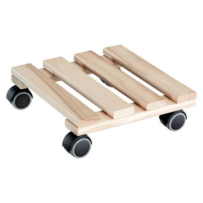 Sottovaso quadro in legno di faggio