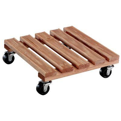 Sottovaso quadro toscana in legno di abete