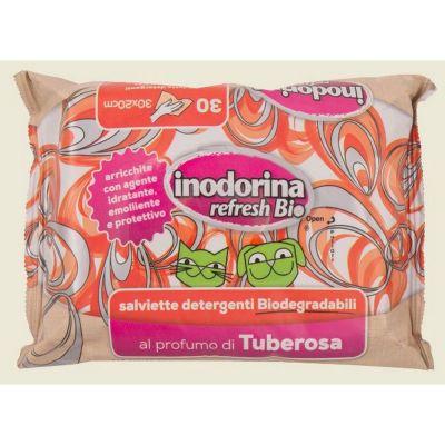 Salviette inodorina biodegradabili alla tuberosa