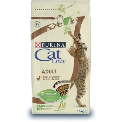 Cat chow ricco in anatra 1,5kg