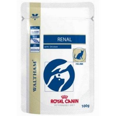 Royal canin renal con pollo umido gatto 12 buste da 85gr