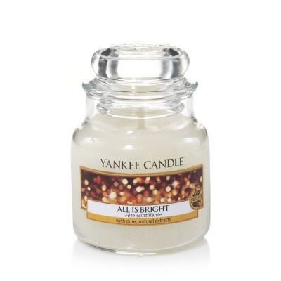 Giara profumata yankee candle all is bright piccola