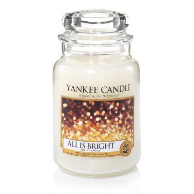 Giara profumata yankee candle all is bright grande