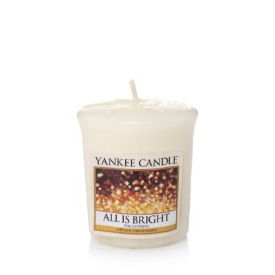 Moccolo profumato yankee candle all is bright