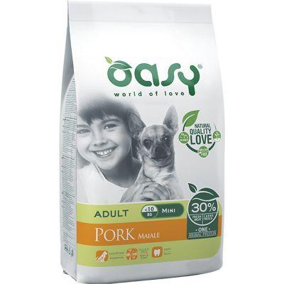 Oasy one protein secco cane mini al maiale 2,5kg