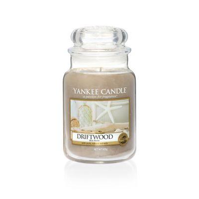 Giara profumata yankee candle driftwood grande