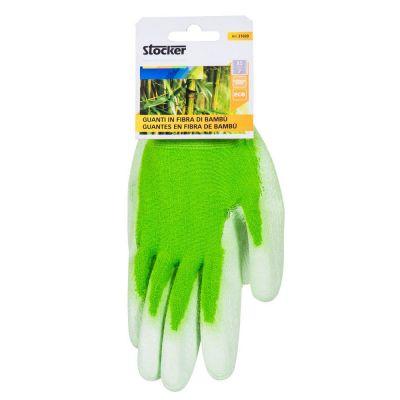 Guanti in fibra bambù taglia 10/L