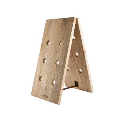 Portabottiglie in legno di mango