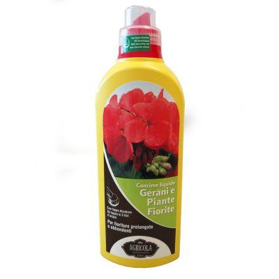 Concime gerani e piante fiorite 1lt
