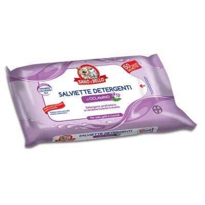 Salviette detergenti al ciclamino 50pz