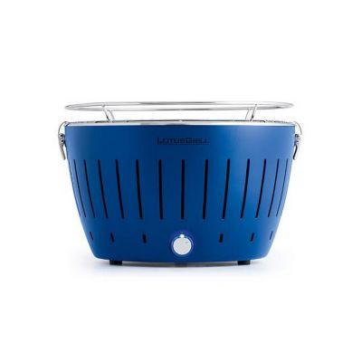 Grill portatile blu