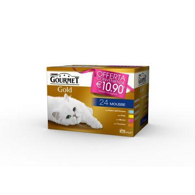 Gourmet gold mousse multipack 24 lattine da 85gr