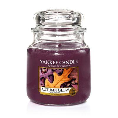 Giara profumata yankee candle autumn glow media