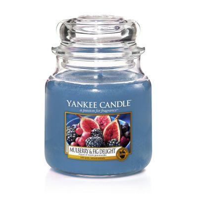 Giara profumata yankee candle mulberry & fig media