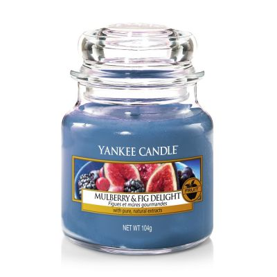 Giara profumata yankee candle mulberry & fig piccola