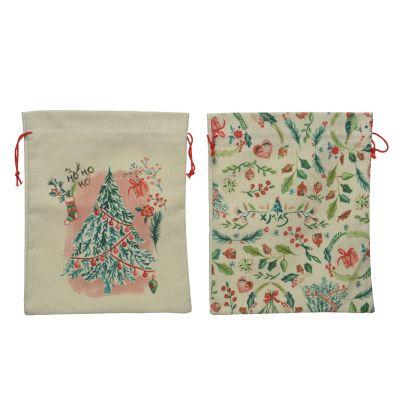 Cotton giftbag print assortito all