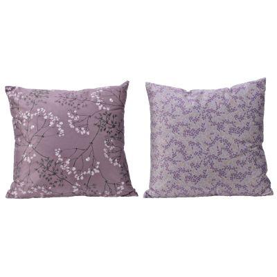 Pes cushion velvet flower 2as