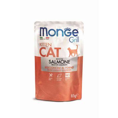 M. grill cat kitten salm