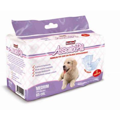 Mutandine per cane assorbenti Medium x12