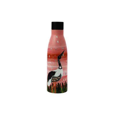 Bottiglia termica di Melanie Hava - Jabirus Pink