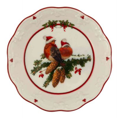 Coppa piccola Uccelli 17 x 17 x 3 cm