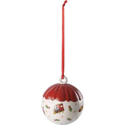 Pallina di Natale in porcellana 6 cm