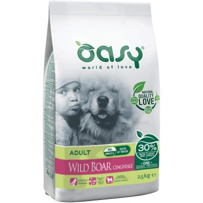 Oasy dry dog - one animal protein cinghiale