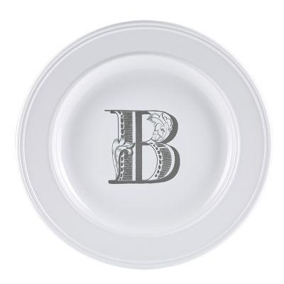Piatto letter dessert b