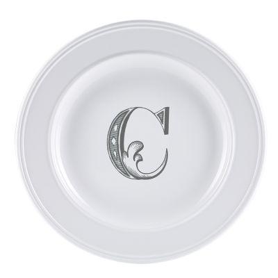 Piatto letter dessert c
