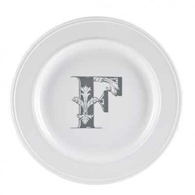 Piatto letter dessert f