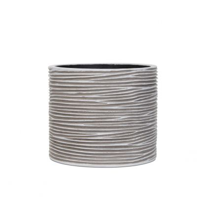 Vaso cilindro rib