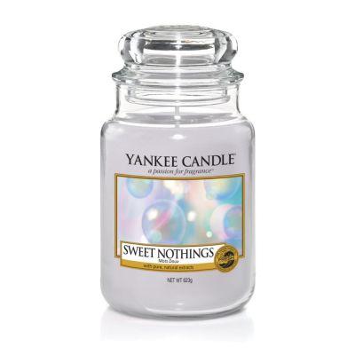 Giara profumata yankee candle sweet nothings grande